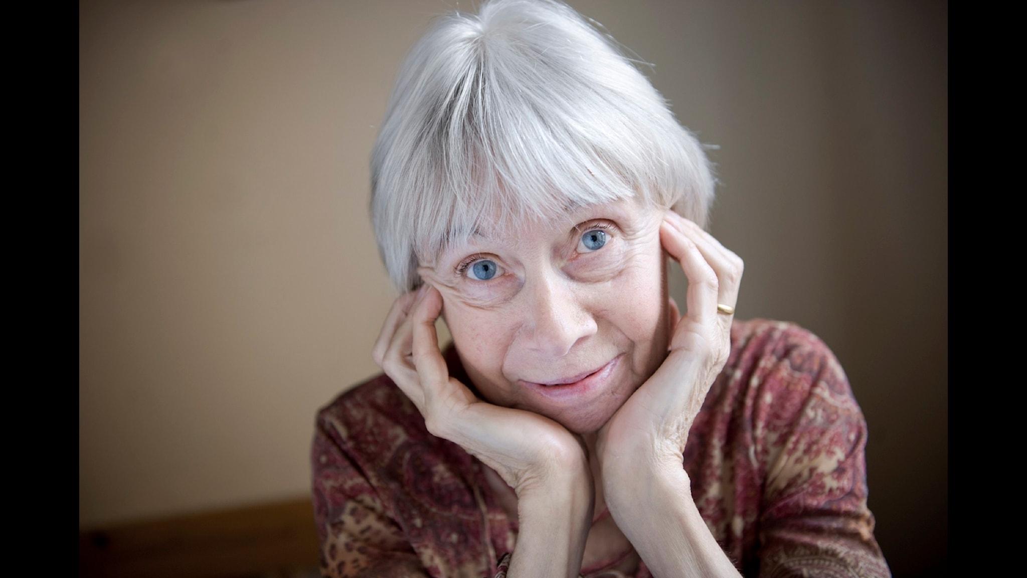 Litteraturprofessorn Birgitta Holm