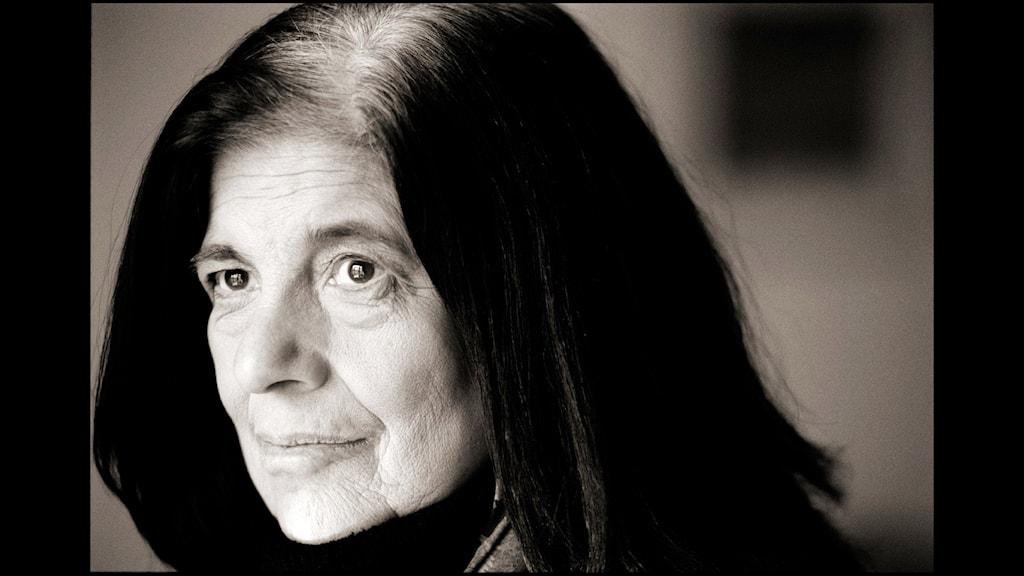 Författaren Susan Sontag