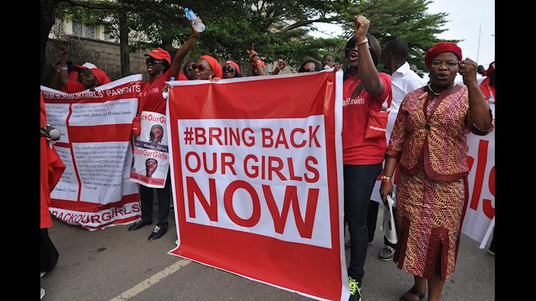 Demonstration, Boko Haram, Nigeria