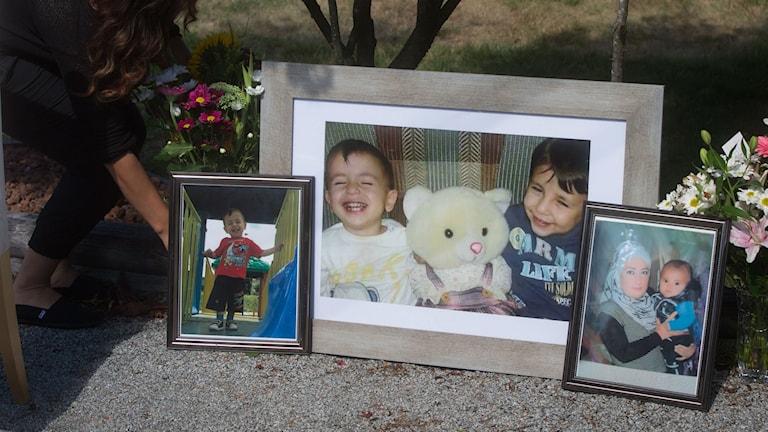 En annan bild av treårige Alan Kurdi.