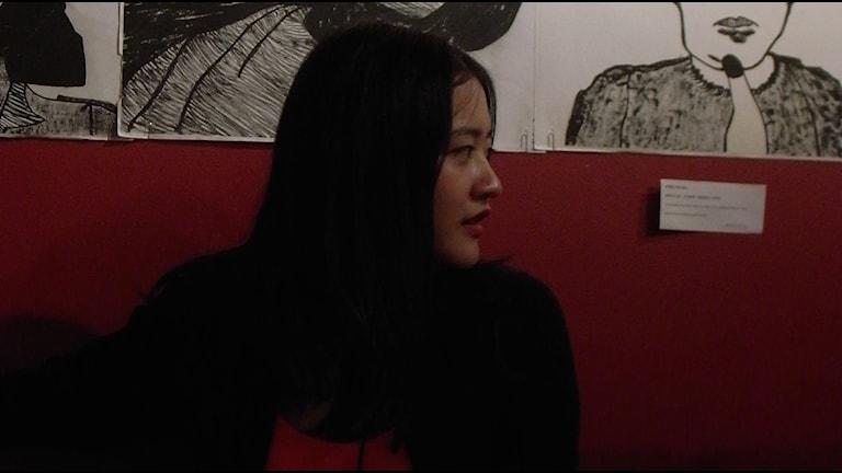 Selena Wu vill inte kalla sig feminist. Foto: Tilde Lewin