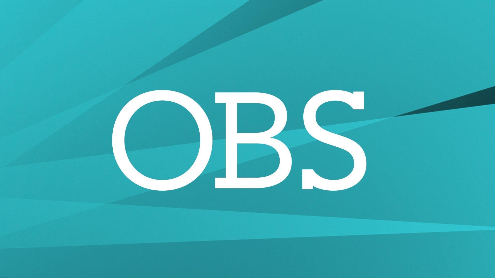 Programbild för OBS