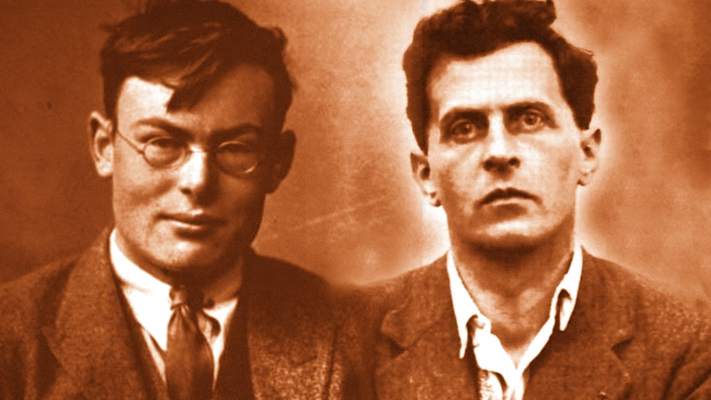 Frank Ramsey 1903–1930 och Ludwig Wittgenstein 1889–1951.