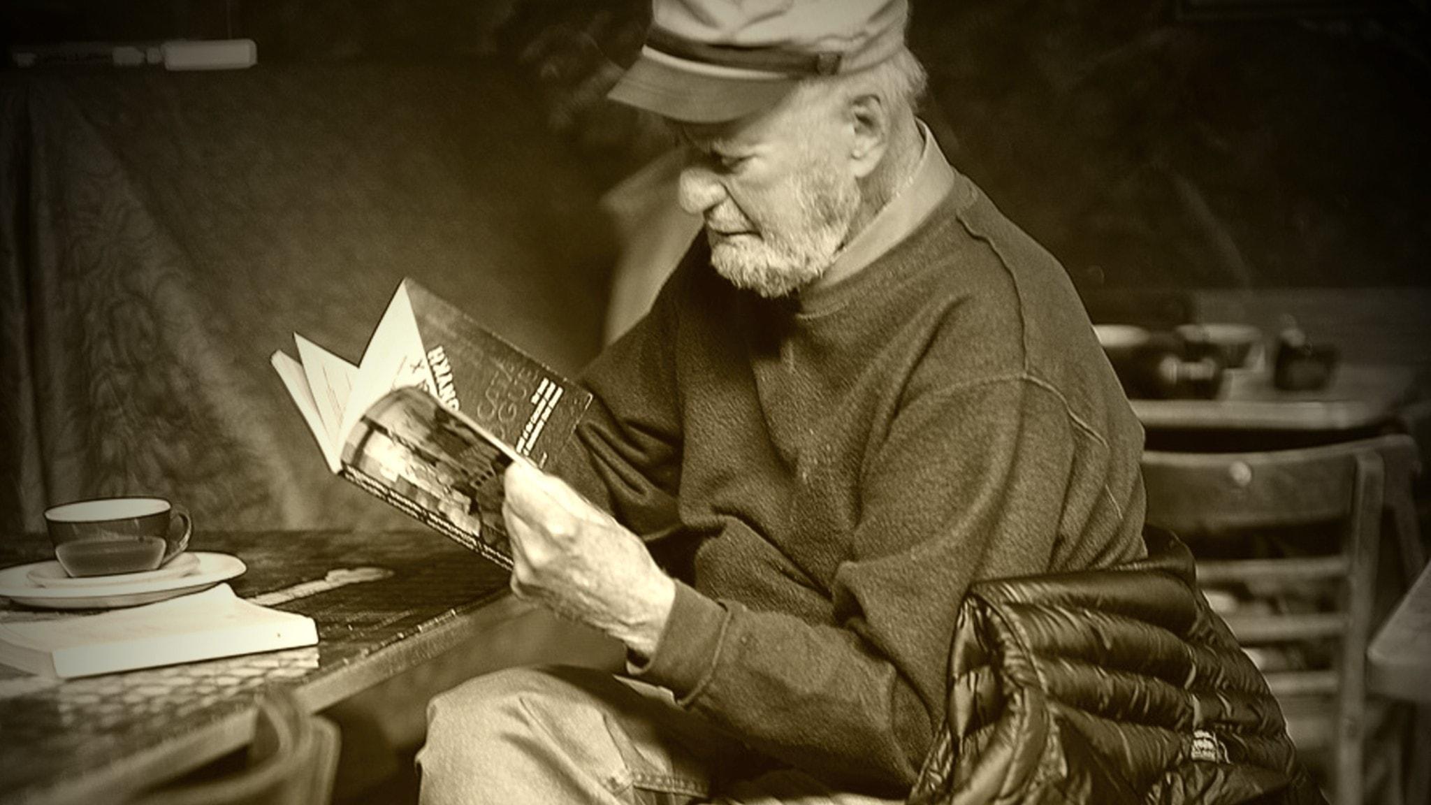 Lawrence Ferlinghetti 1919–2021.