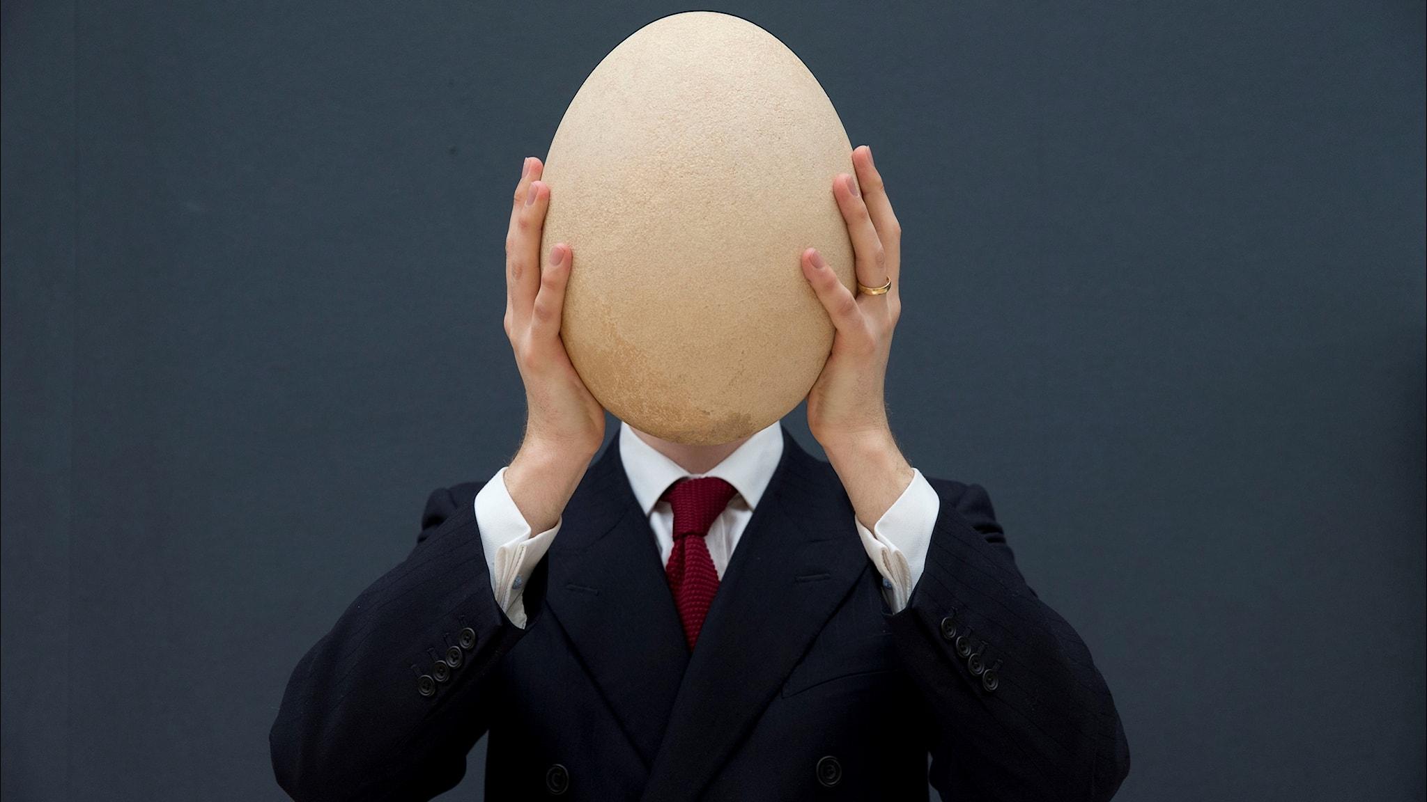 Ägget sjuder i hjärtat av den mänskliga kulturen
