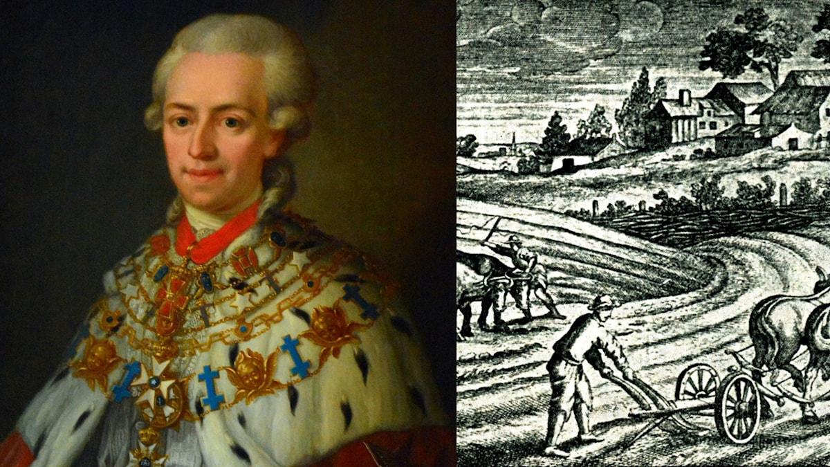 Johan Gabriel Oxenstierna växte upp på Skenäs gård i Södermanland.