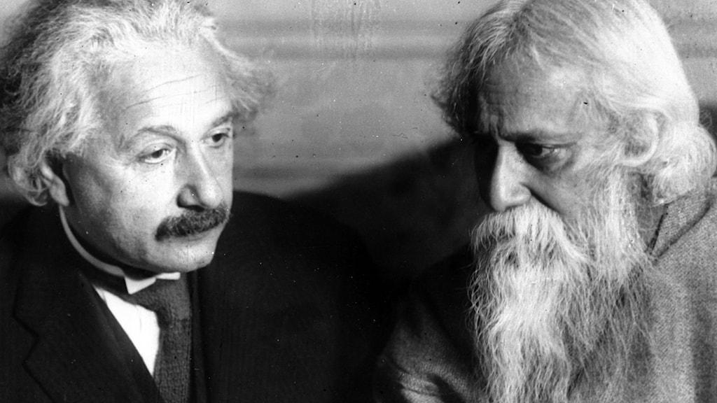 Einstein och Tagore i New York 1930.