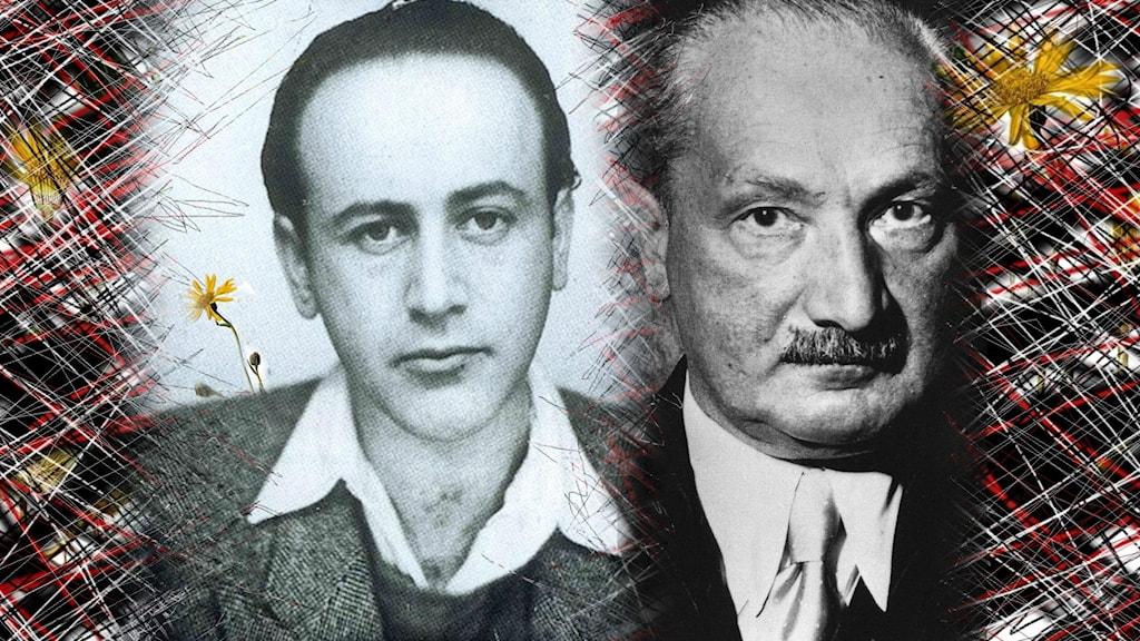 Celan och Heidegger.