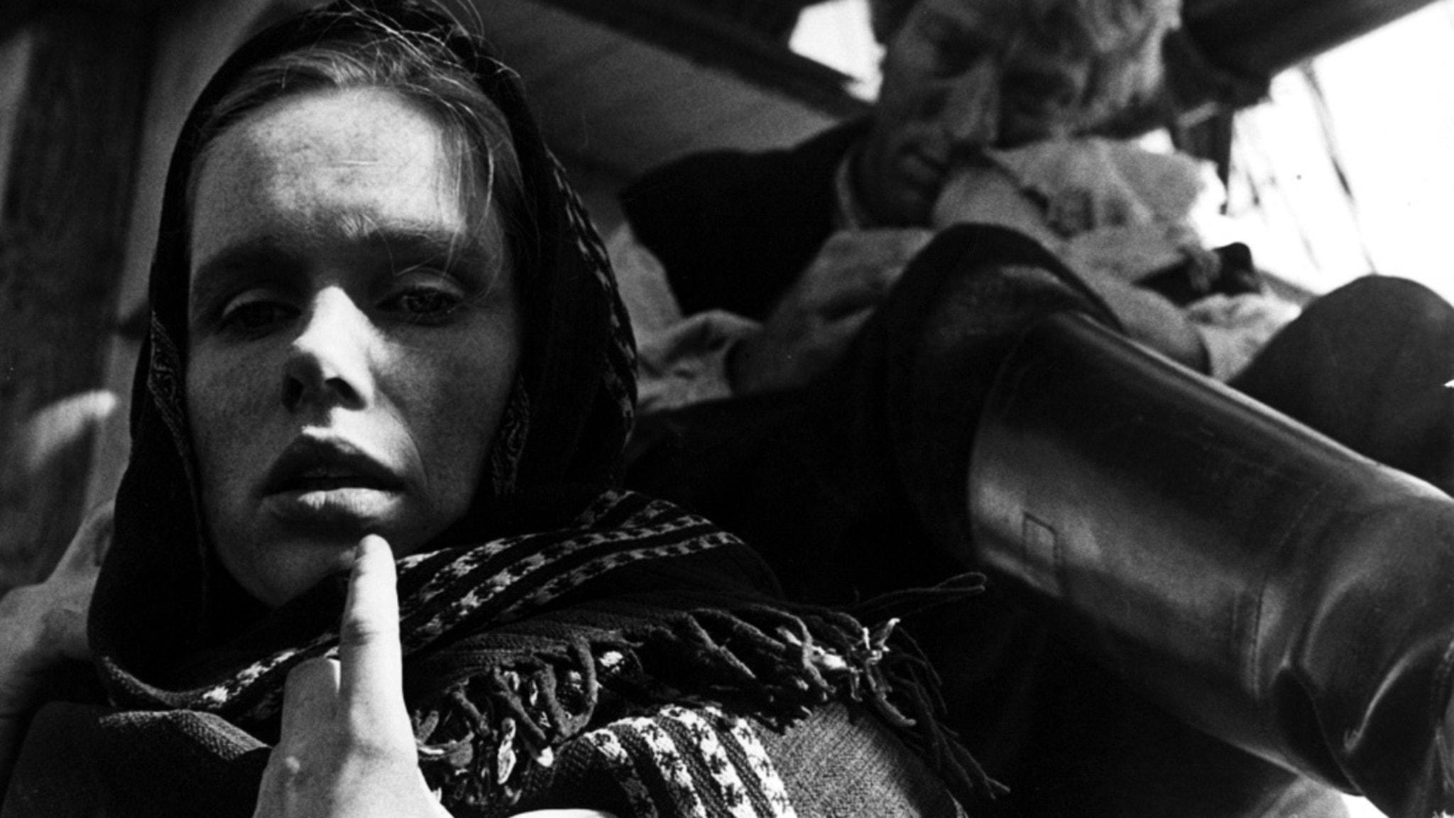 Liv Ullmann och Max von Sydow i filmen Utvandrarna
