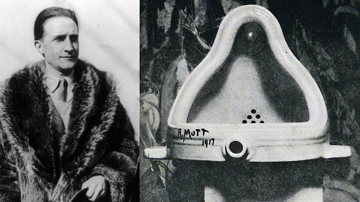 "Marcel Duchamp och ""Fountain""."