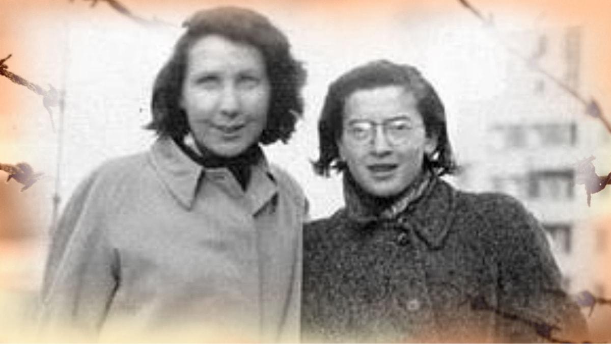 Gunvor Hofmo och Ruth Maier.