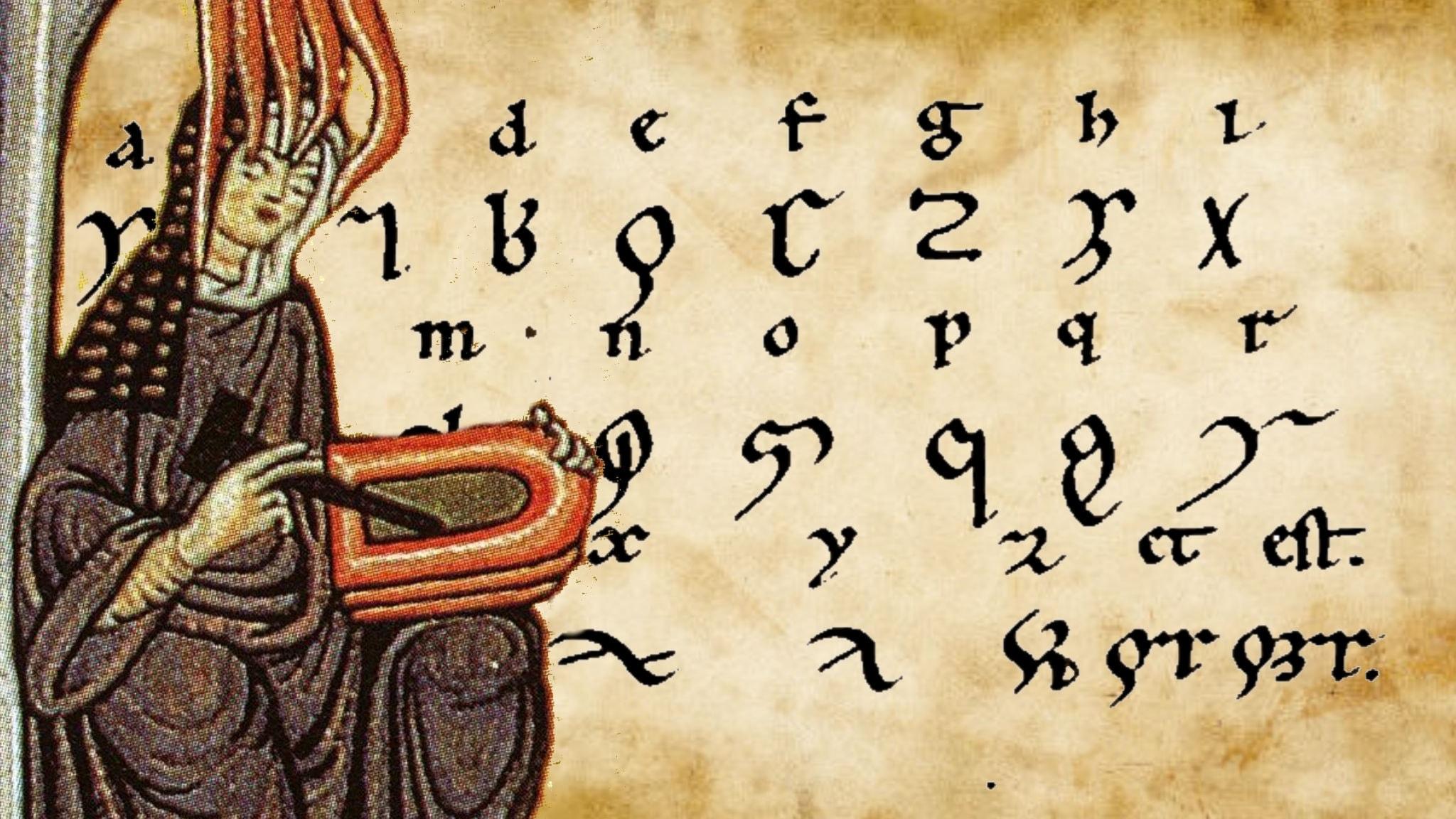 Hildegard av Bingen och språkets lysande grönska
