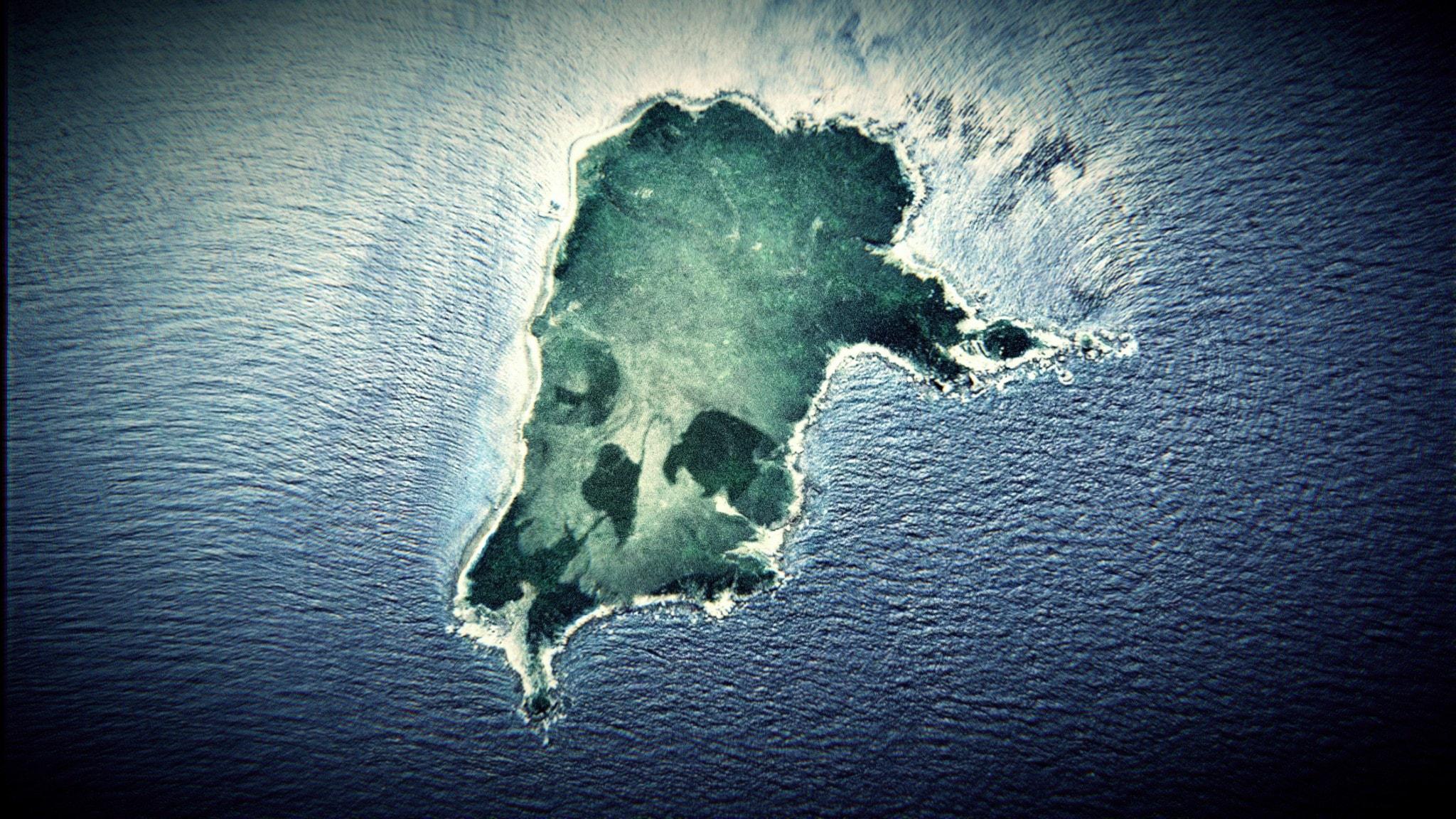 En ensam ö med ett