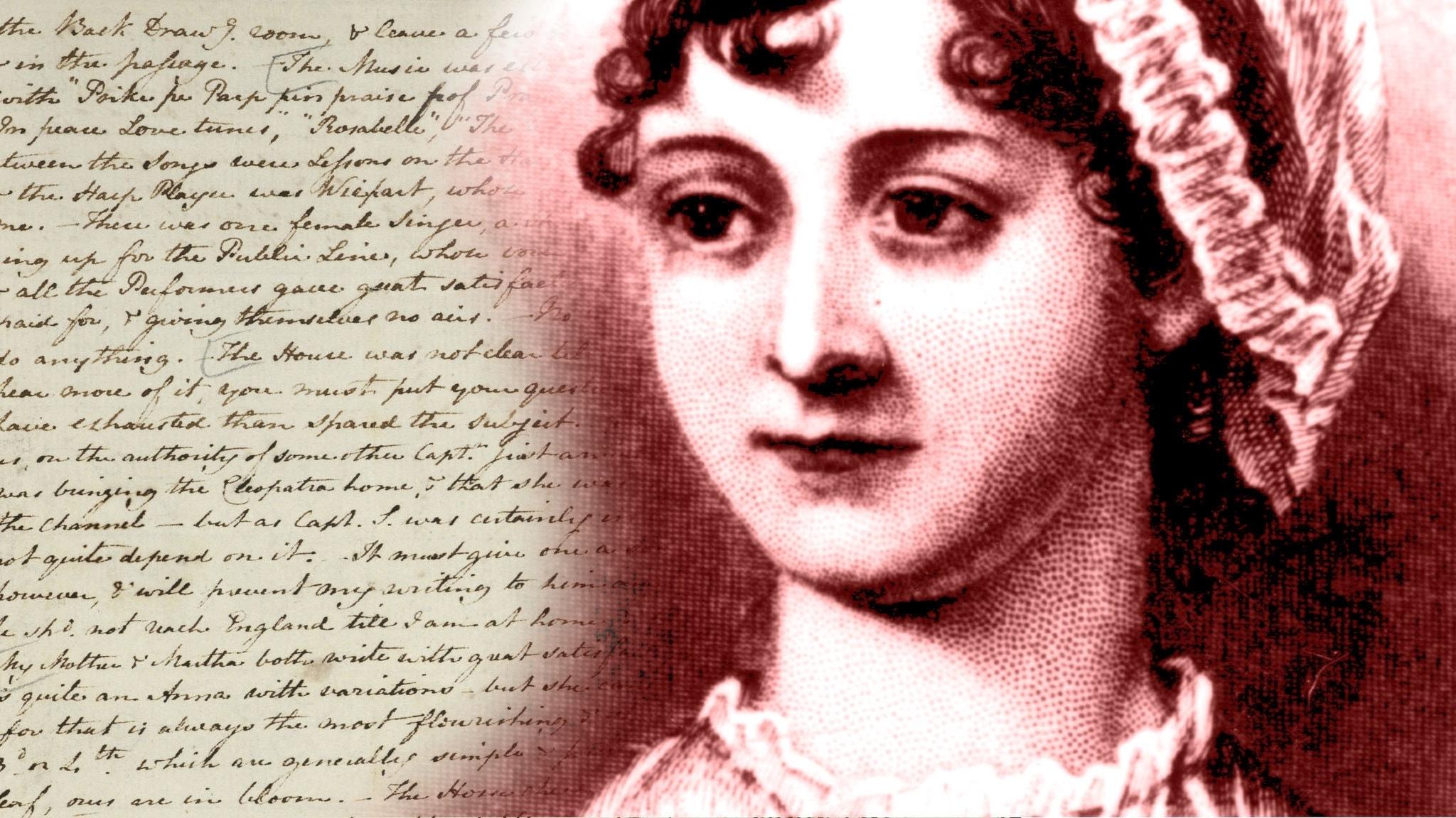 Jane Austens skrev många brev till sin syster Cassandra
