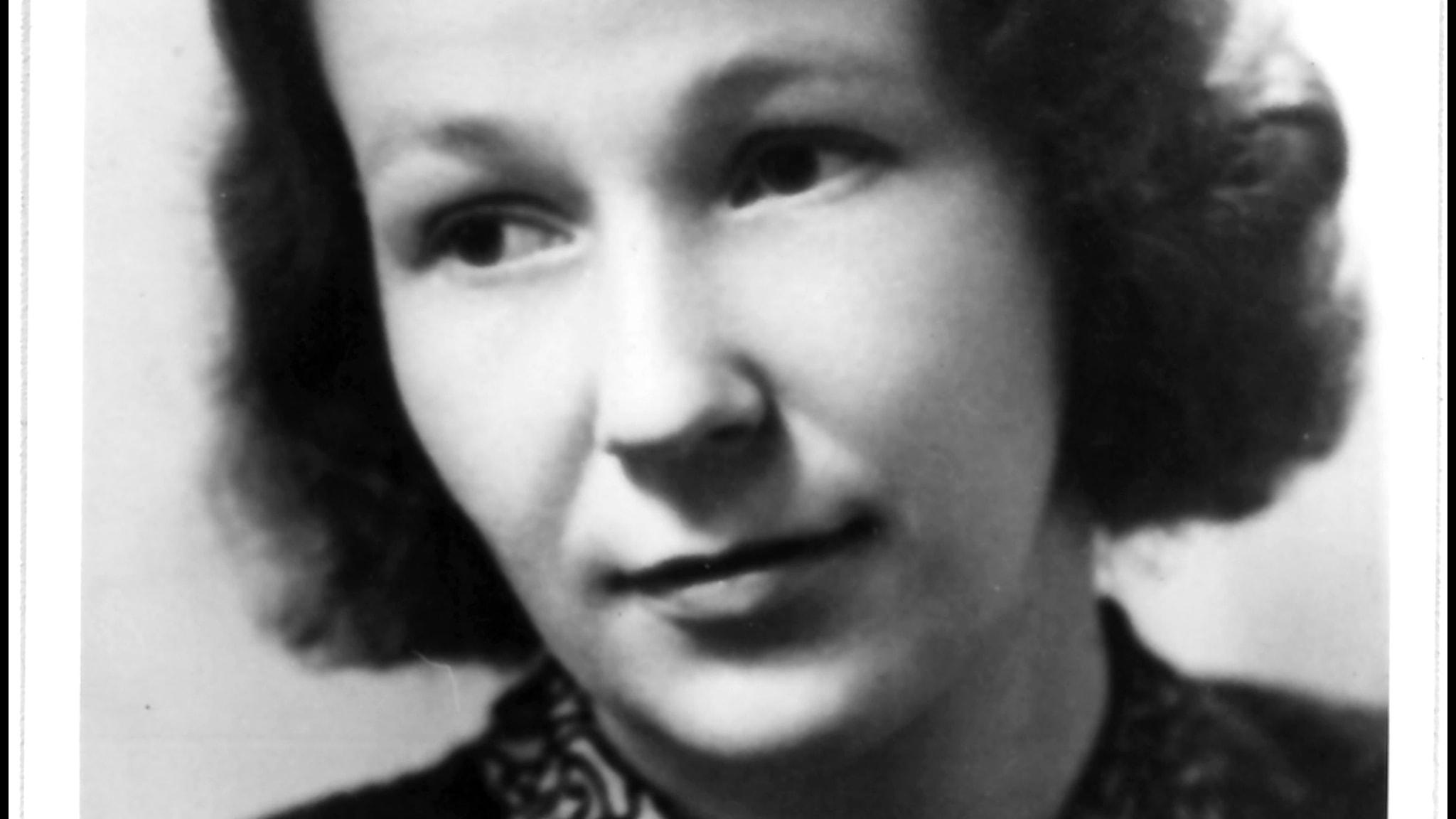 Mirjam Tuominen (1913-1967) på 1930-talet.