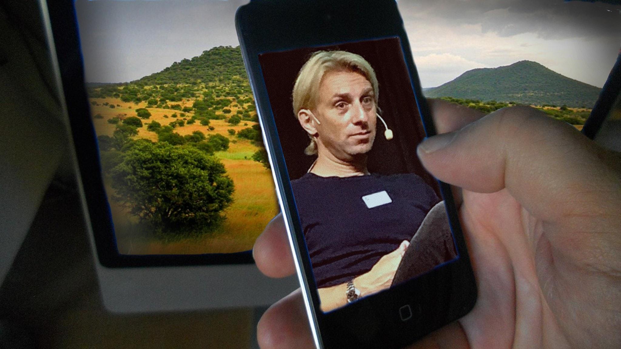 Anders Hansen och savannen.
