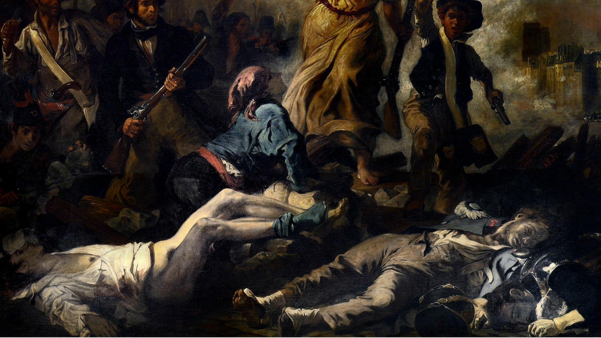 Delacroix: Friheten på barrikaderna.