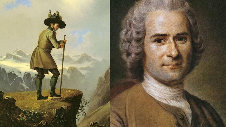 När Rousseau fick oss att klättra i berg