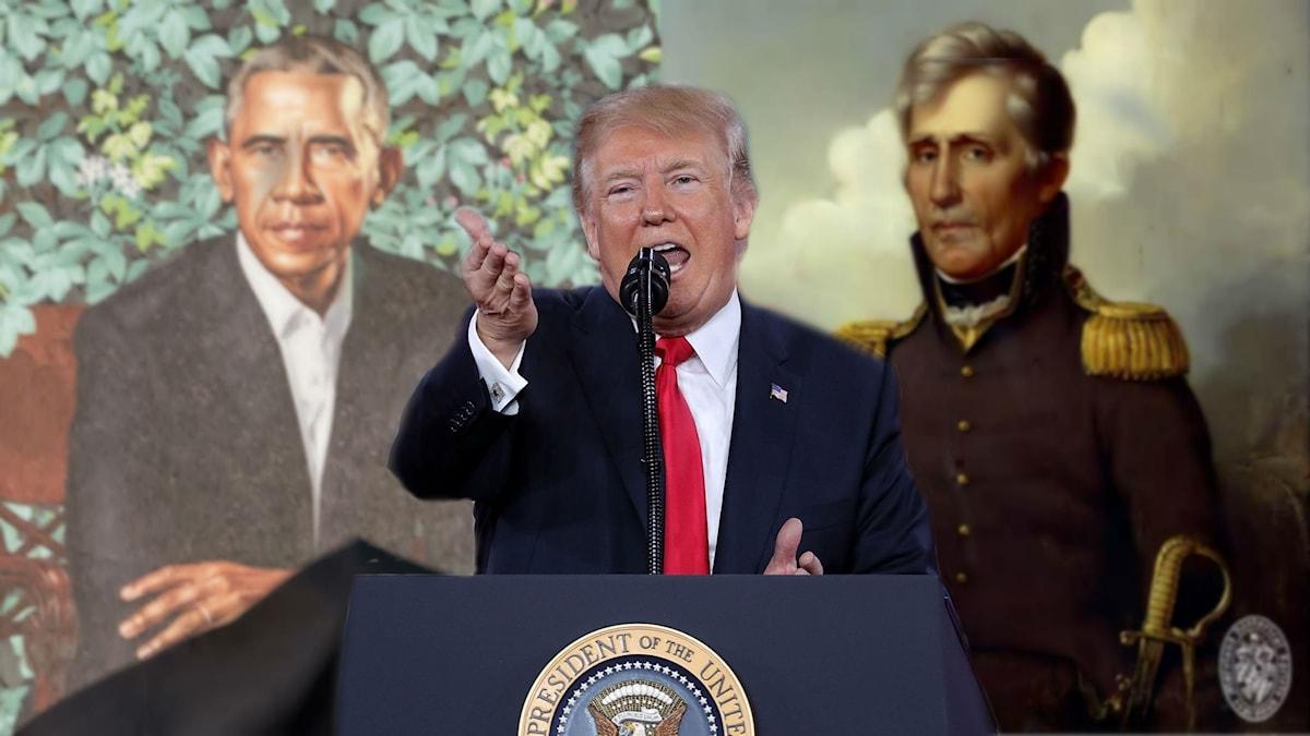 Tre presidenter