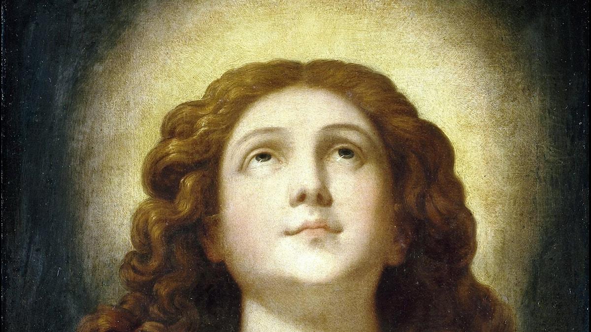 Den välsignade själen och eviga lyckan i Francisco Ribaltas (1565–1628)  tolkning.