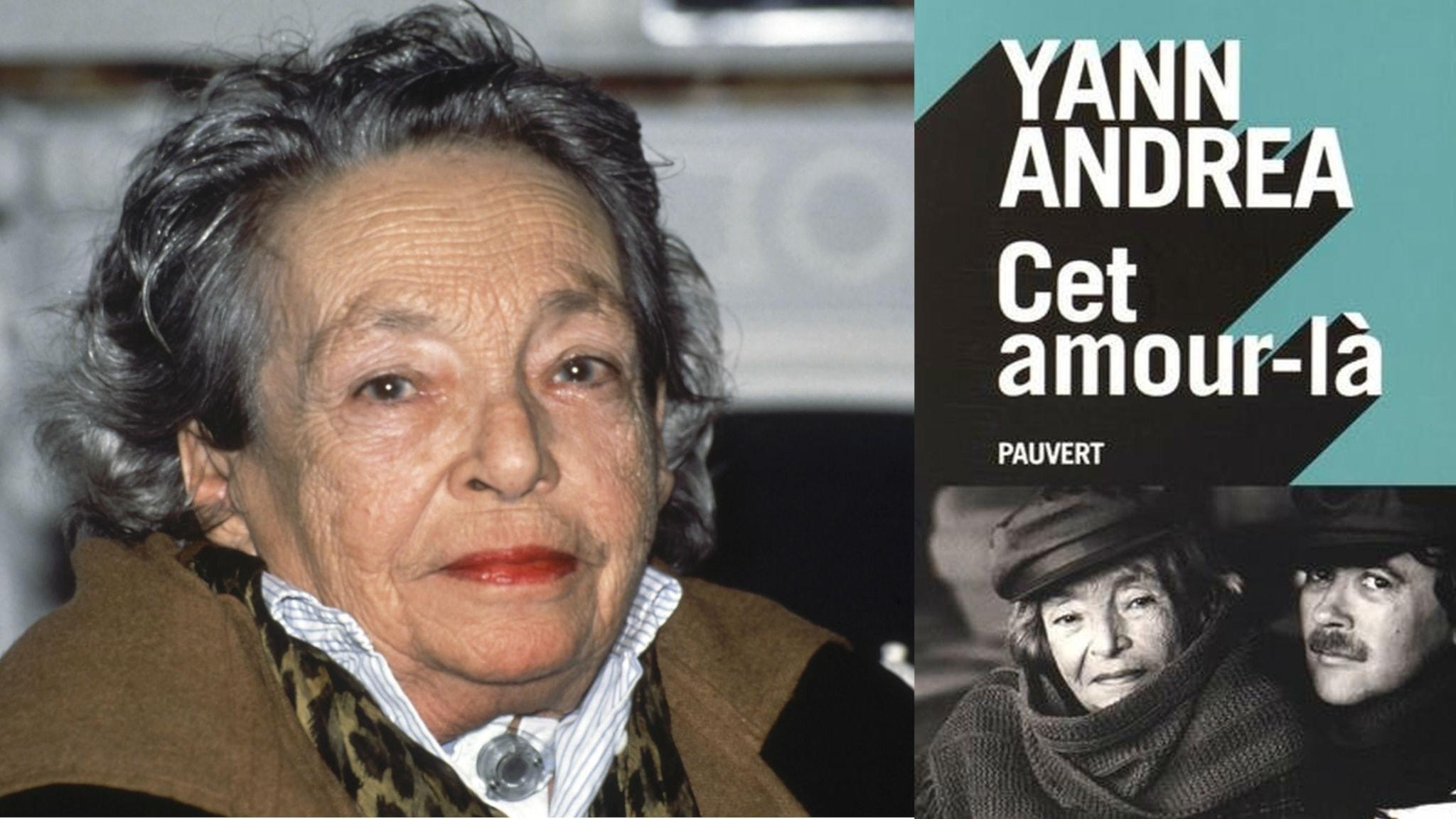 """Duras och osmlaget till Yann Andréas självbiografi """"Cet amour-là"""" där han berättar om deras liv."""