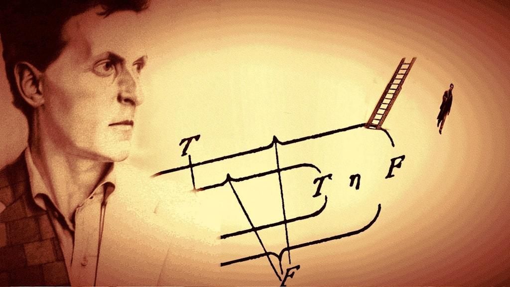 "Ludwig Wittgensteins ""Tractatus Logico-Philosophicus"" publicerades 1921 med titeln ""Logisch-philosophische abhandlung"".."