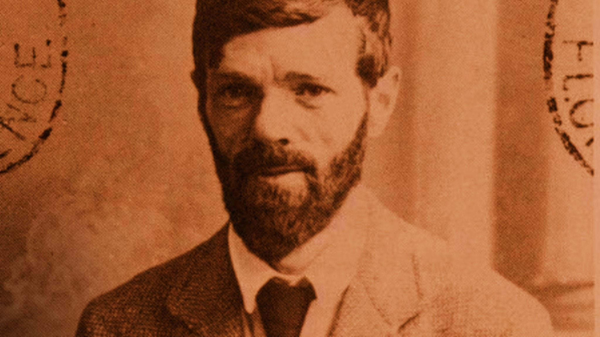 D H Lawrence, 1921.