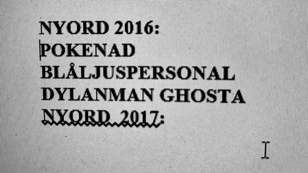 Ghosta och Dylanman kom 2016, vilka blir årets?