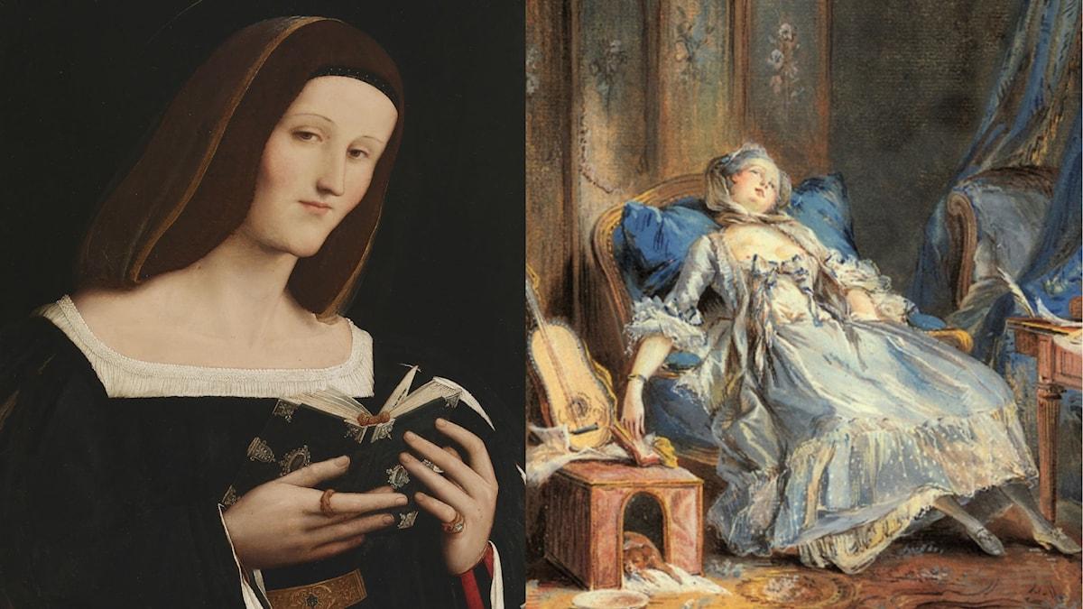 Läsande kvinnor