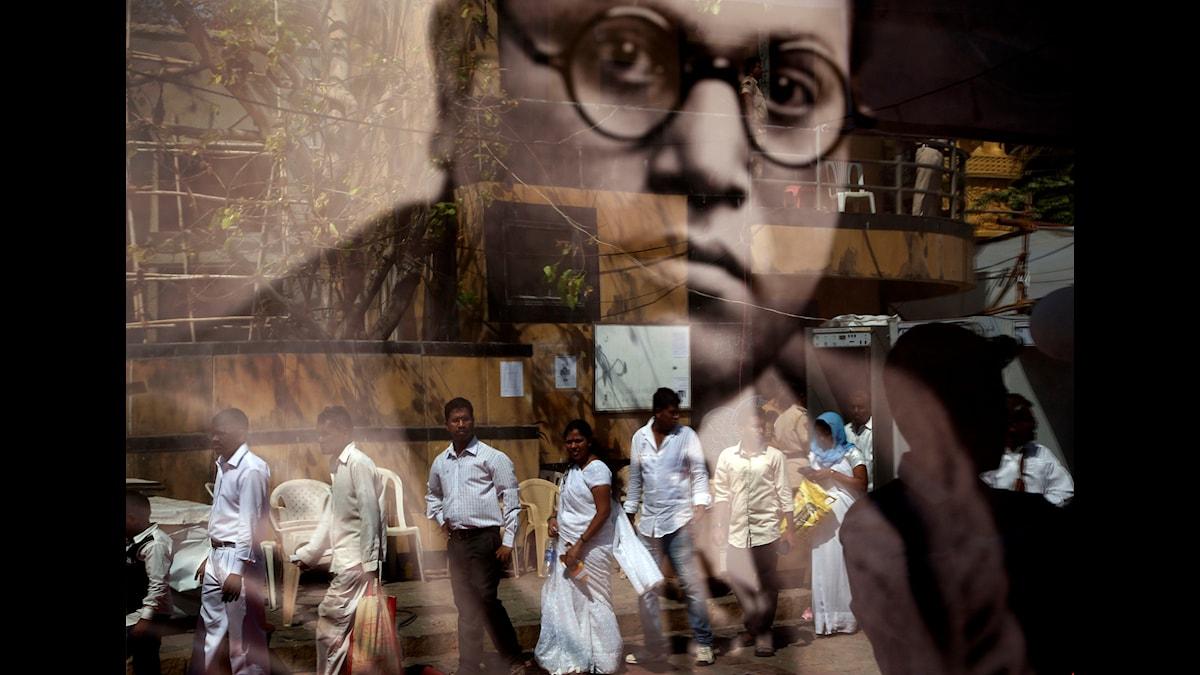 B R Ambedkar, legendarisk antikastpolitiker, är mer än någonsin en ikon för Indiens oberörbara och fattiga.
