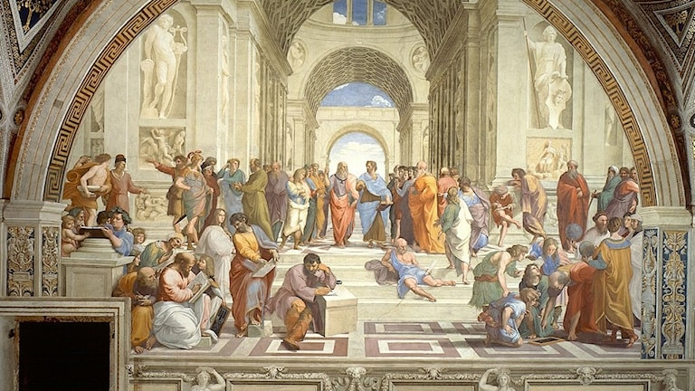 Skolan i Aten.