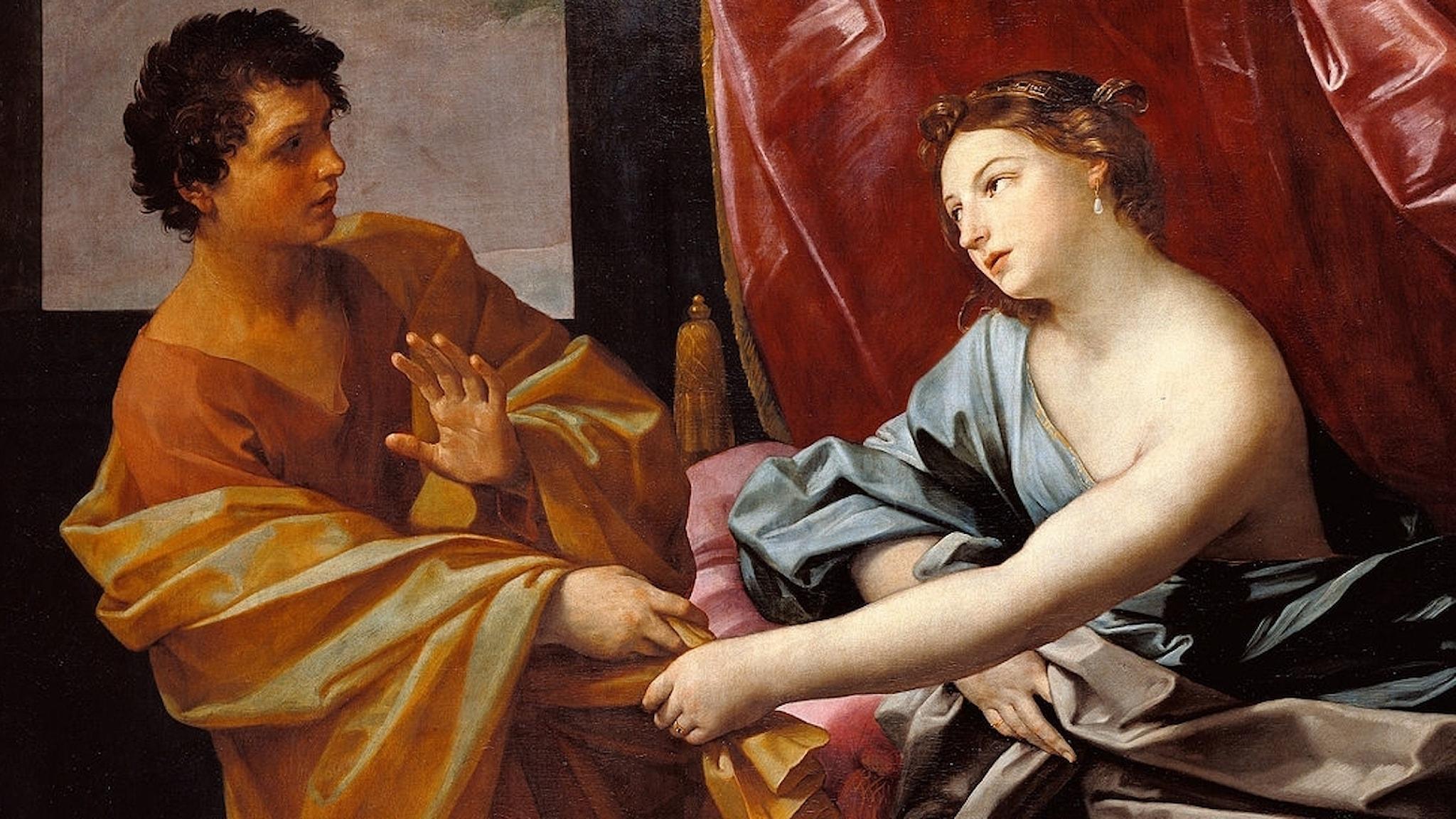 Josef och Potifars hustru.