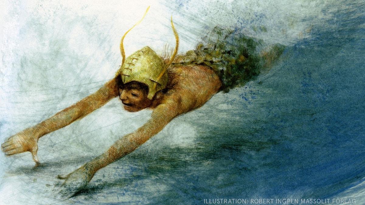 Peter Pan: Flykten Illustration: Robert Ingpen Massolit förlag