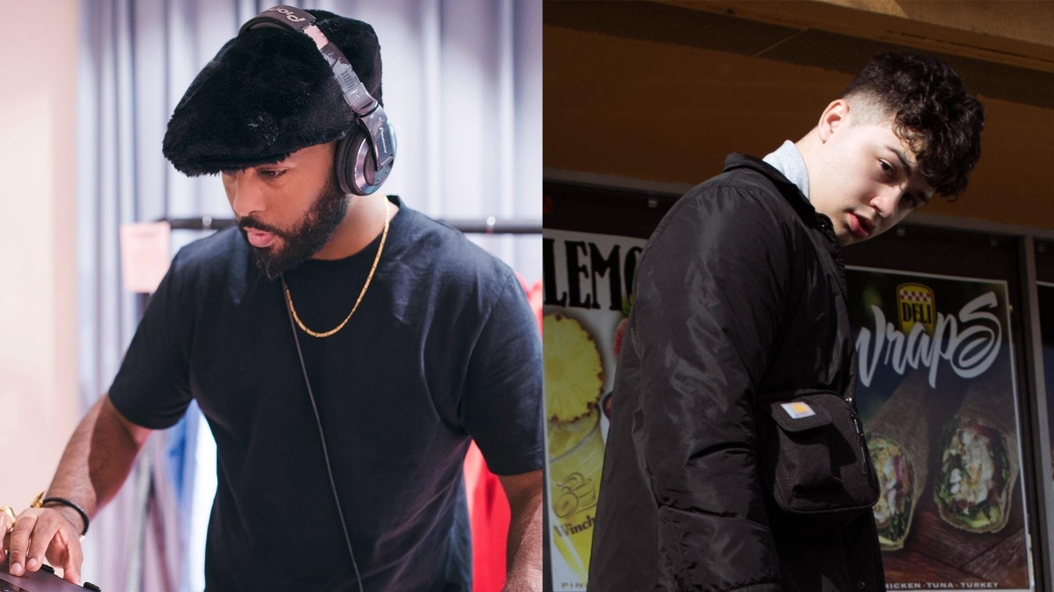 P3 med DJ Finest och Filip Hunter