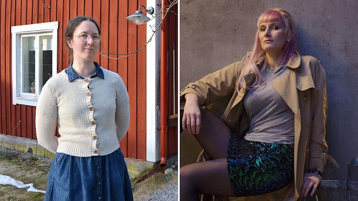 Linnea Dunér och Isabelle Ståhl.