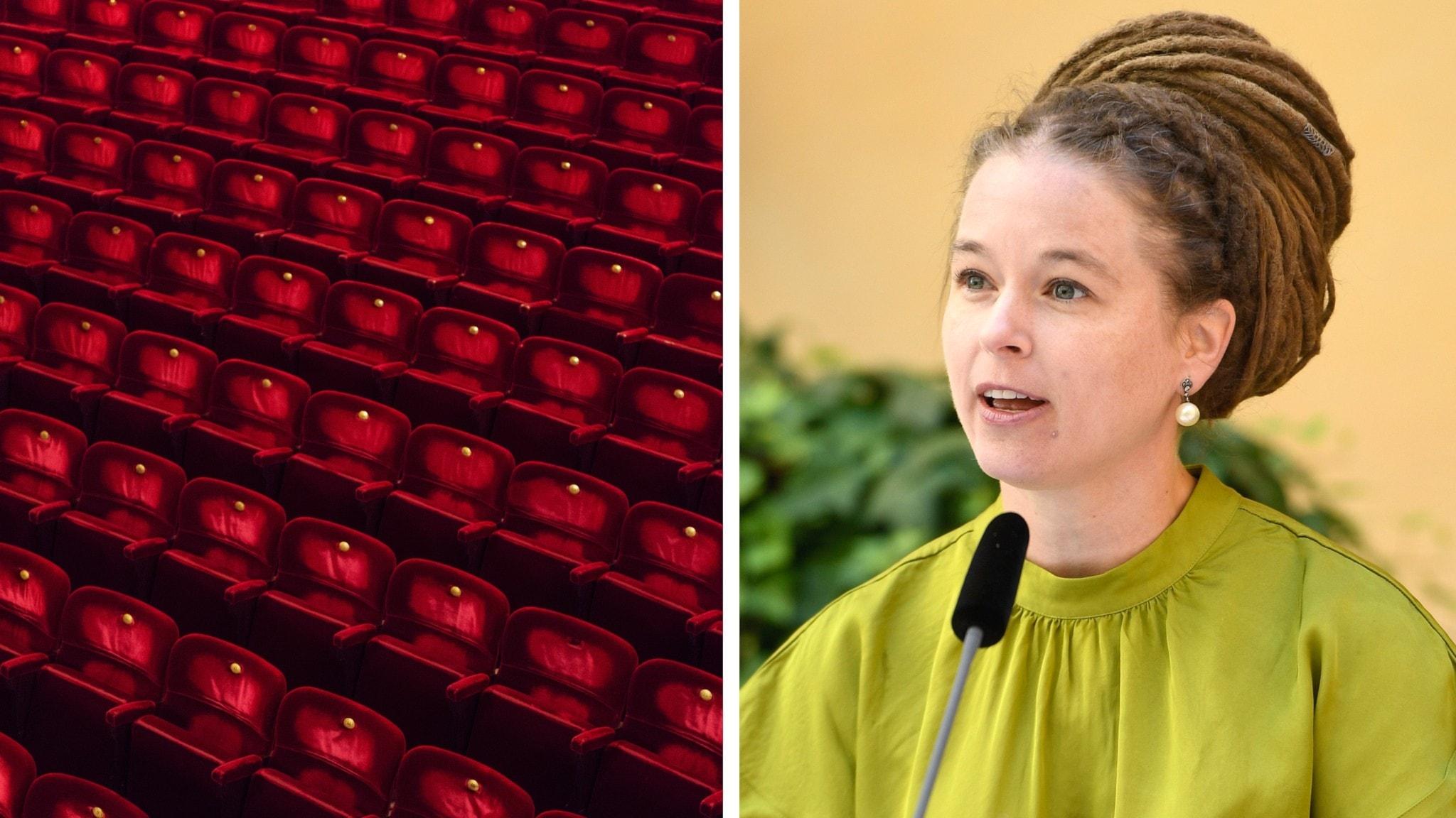 Scenkonst-Sverige vill öppna salongerna – kulturministern svarar
