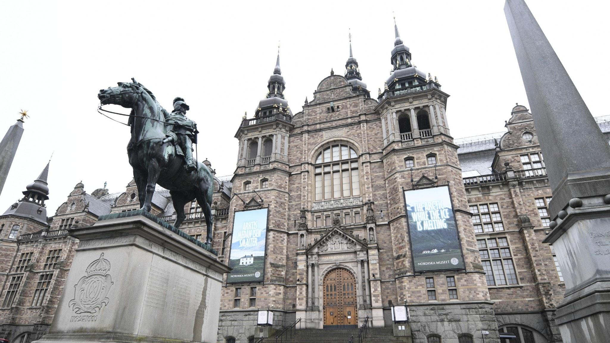 Nordiska museets fasad