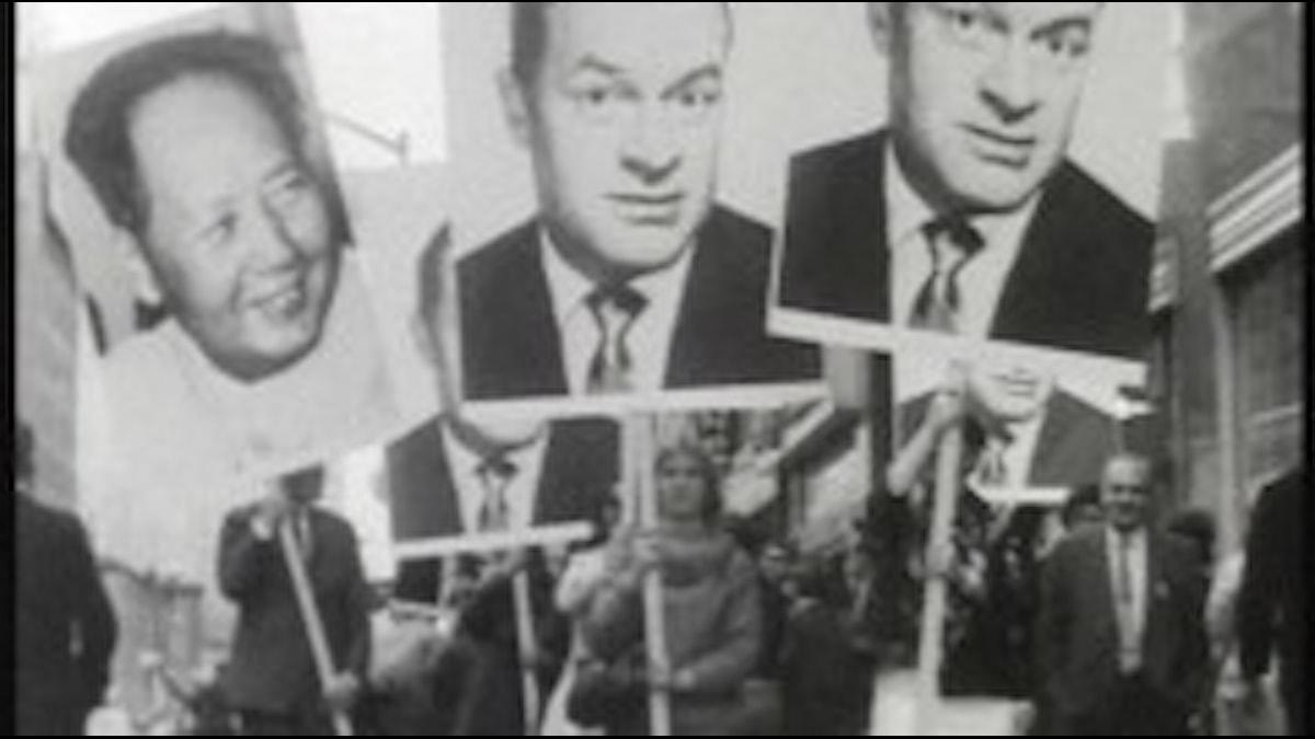 Öyvind Fahlströms Mao-Hope marsch 1966.