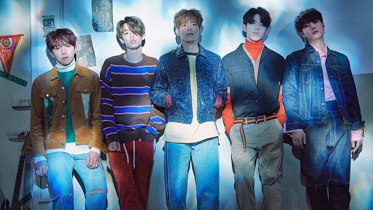 Det sydkoreanska Day6 är en av de framgångsrika företrädarna för den så kallade k-popen.