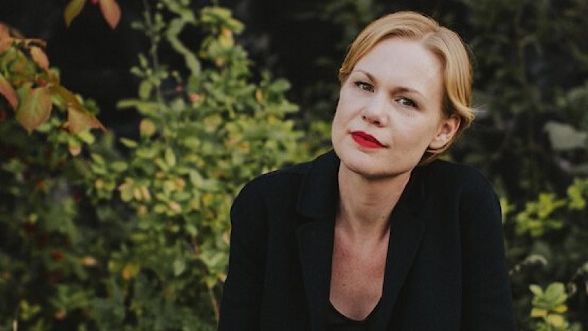 Författaren Hanna Nordenhök.