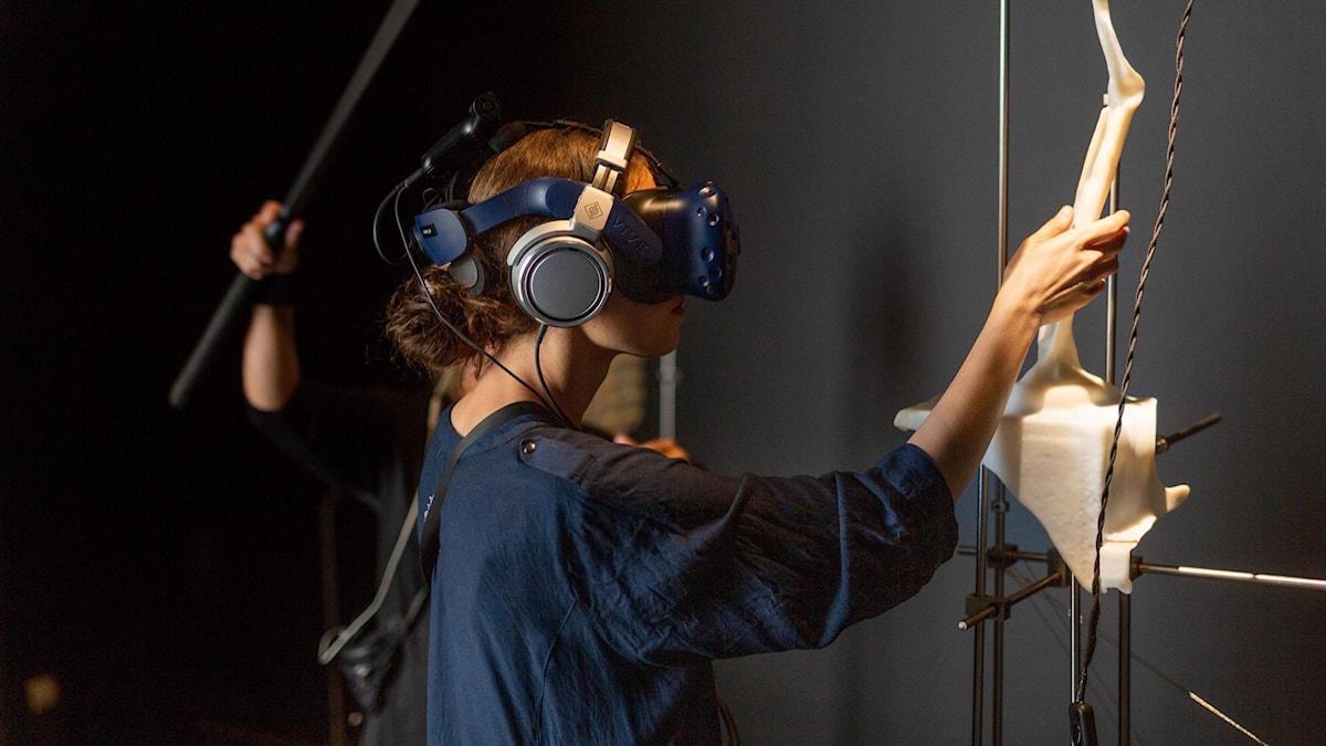 Ur VR-verket The Memor av konstnärsduon Lundahl&Seitl på Göteborgs Konsthall augusti 2019