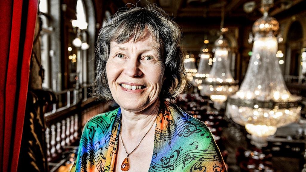 Tonsättaren och kompositören Karin Rehnqvist.