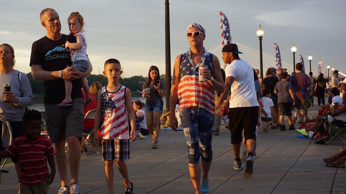 Nationaldagen firas i Kansas City
