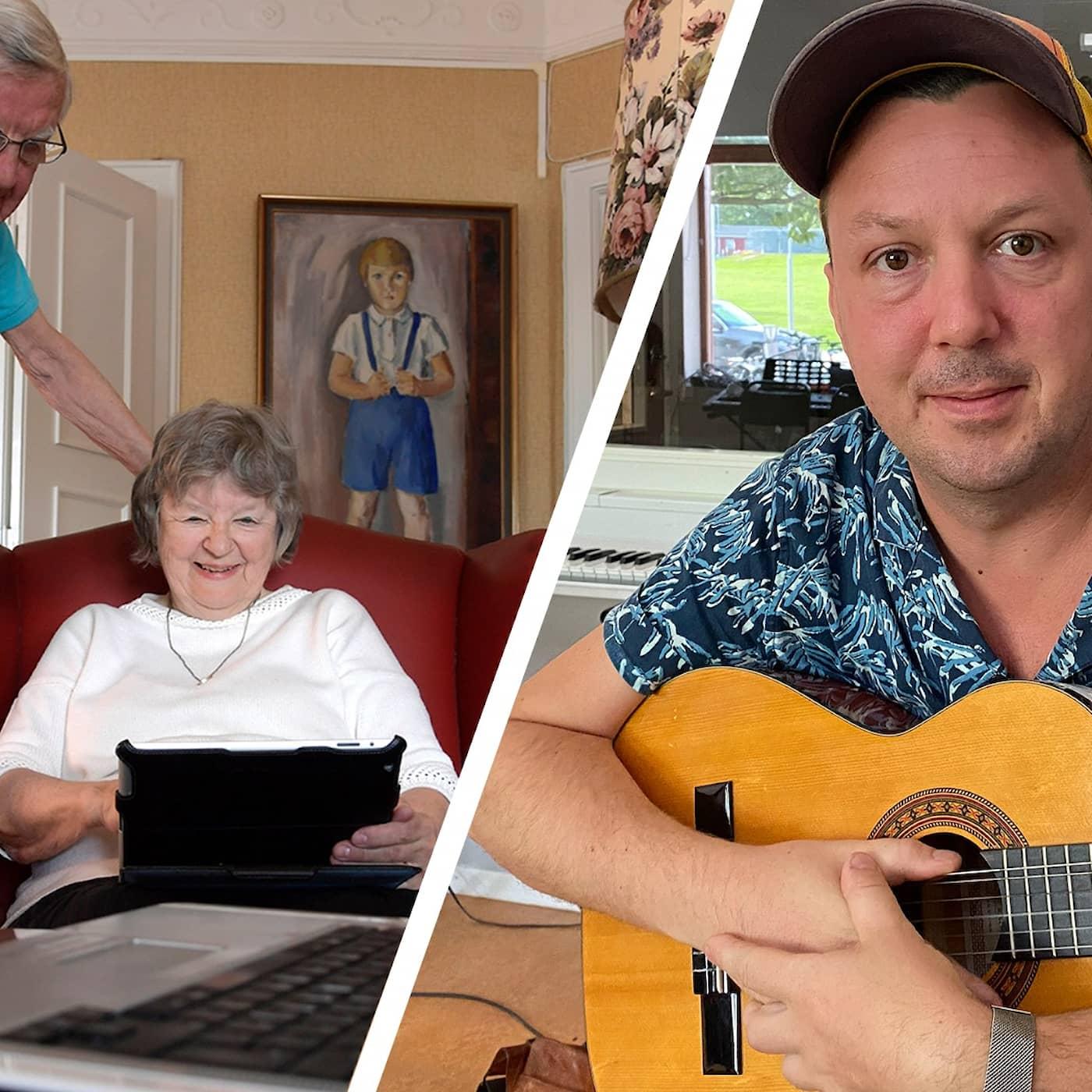 Digital kulturboom bland äldre under pandemin