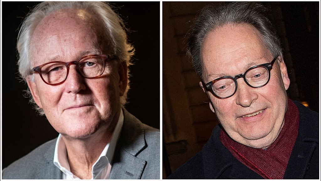 Lars Heikensten och Horace Engdahl