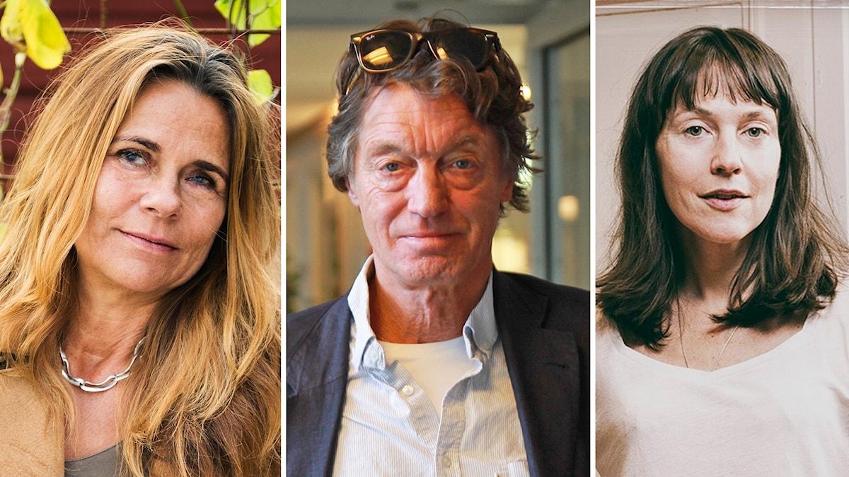 Katarina Hahr, Johannes Brost och Natalie Ringler.