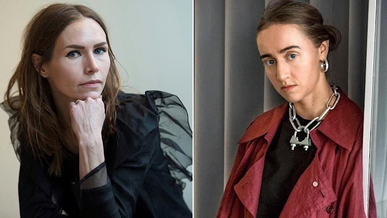 Nina Persson och Silvana Imam.