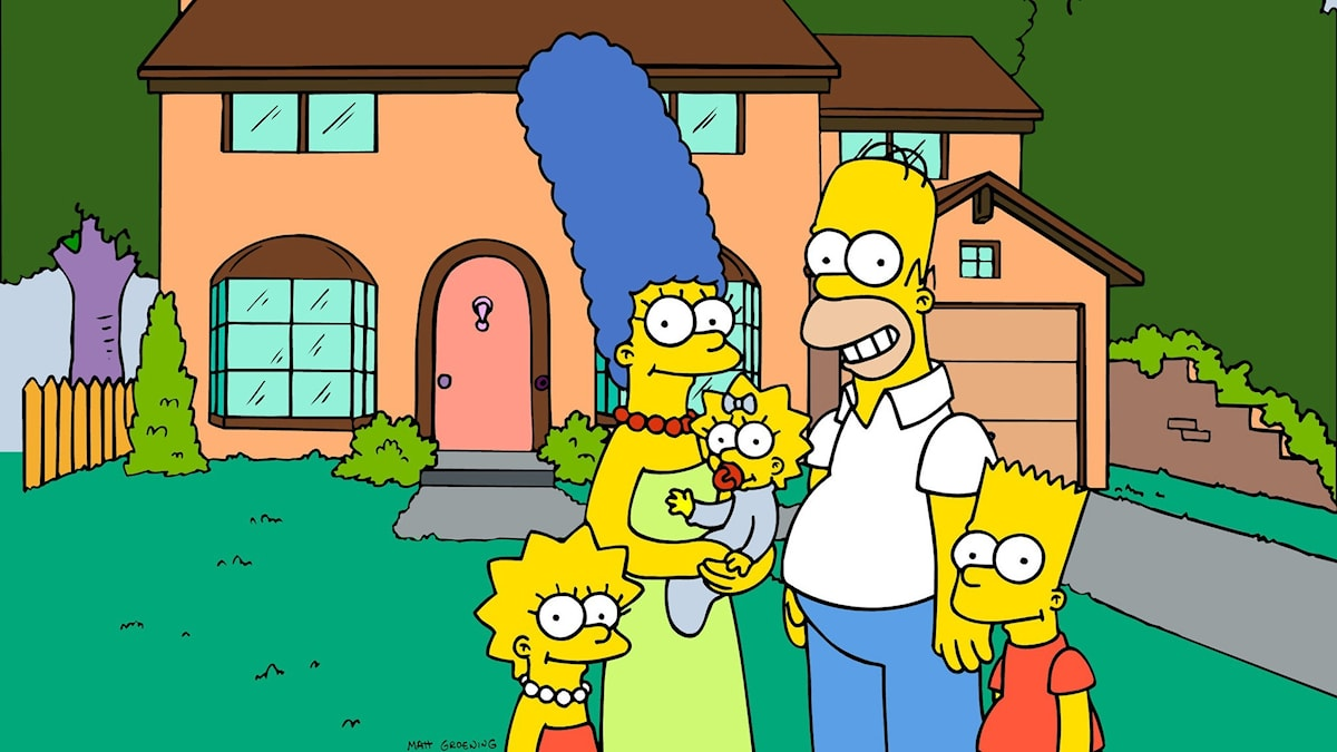 The Simpsons. Foto: TT / Fox Broadcasting