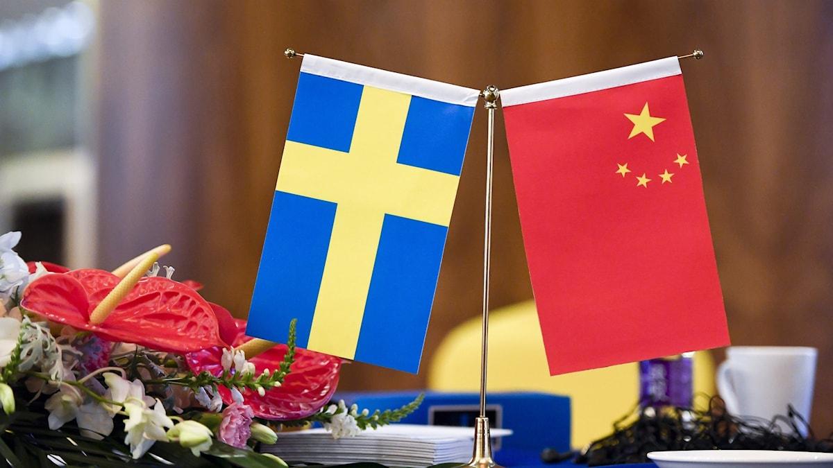 Kina Sverige
