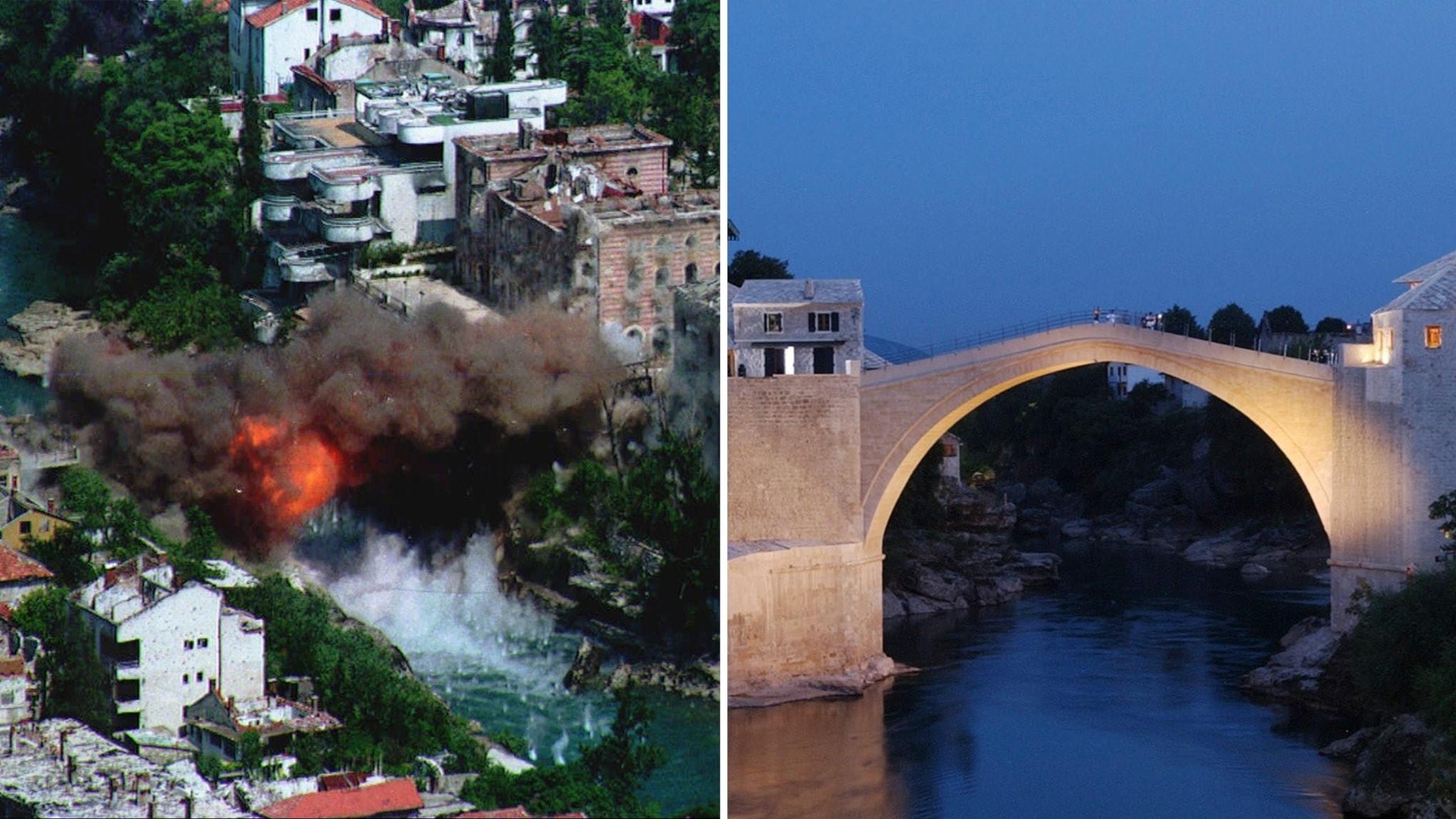 Att återskapa ett kulturarv – 25 år sedan bron i Mostar förstördes